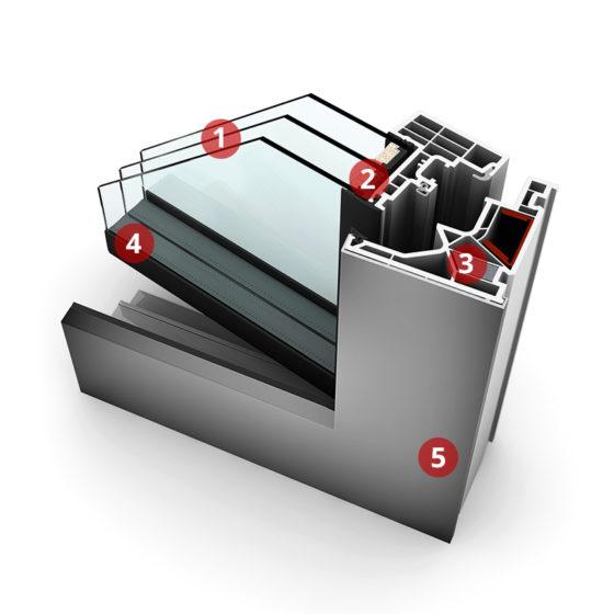 KF 405 műszaki jellemzői