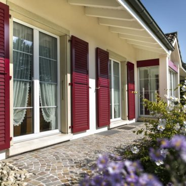 Internorm KF 500 ablakok romantikus stílusban