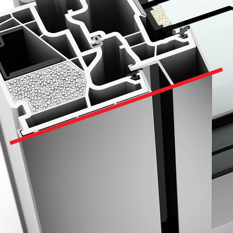 kf 410 m anyag m anyag alum nium ablak. Black Bedroom Furniture Sets. Home Design Ideas