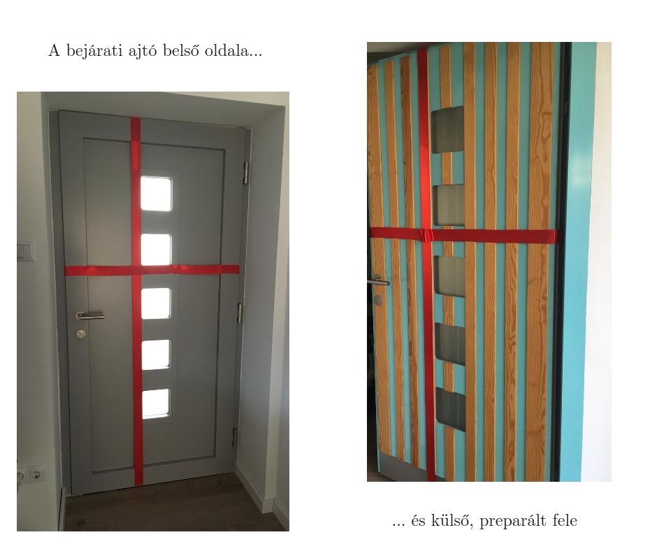 Internorm bejárati ajtó átalakítással