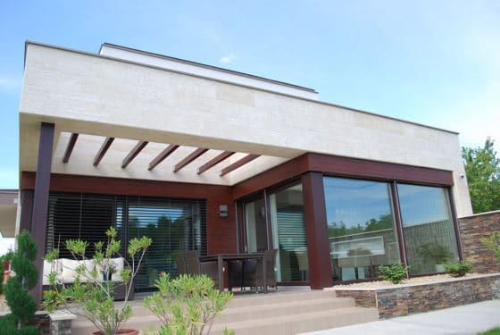 Fix és nyitható ablakok kombinációja