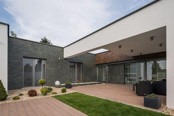 Az Internorm ablakok meghatározzák a ház homlokzatát