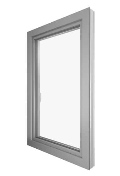 KF410 Internorm ablak aluborítással